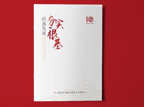 企业10周年画册