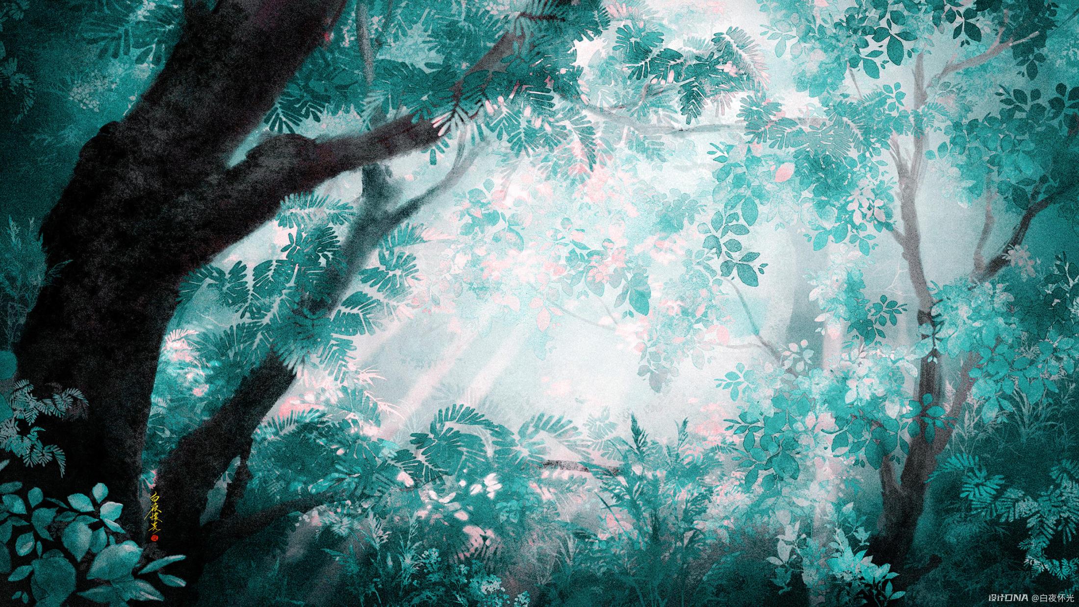 夏日密林 图2