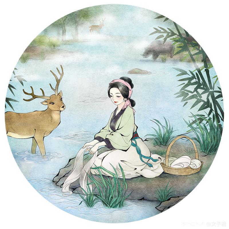 中国风插画作品 图2