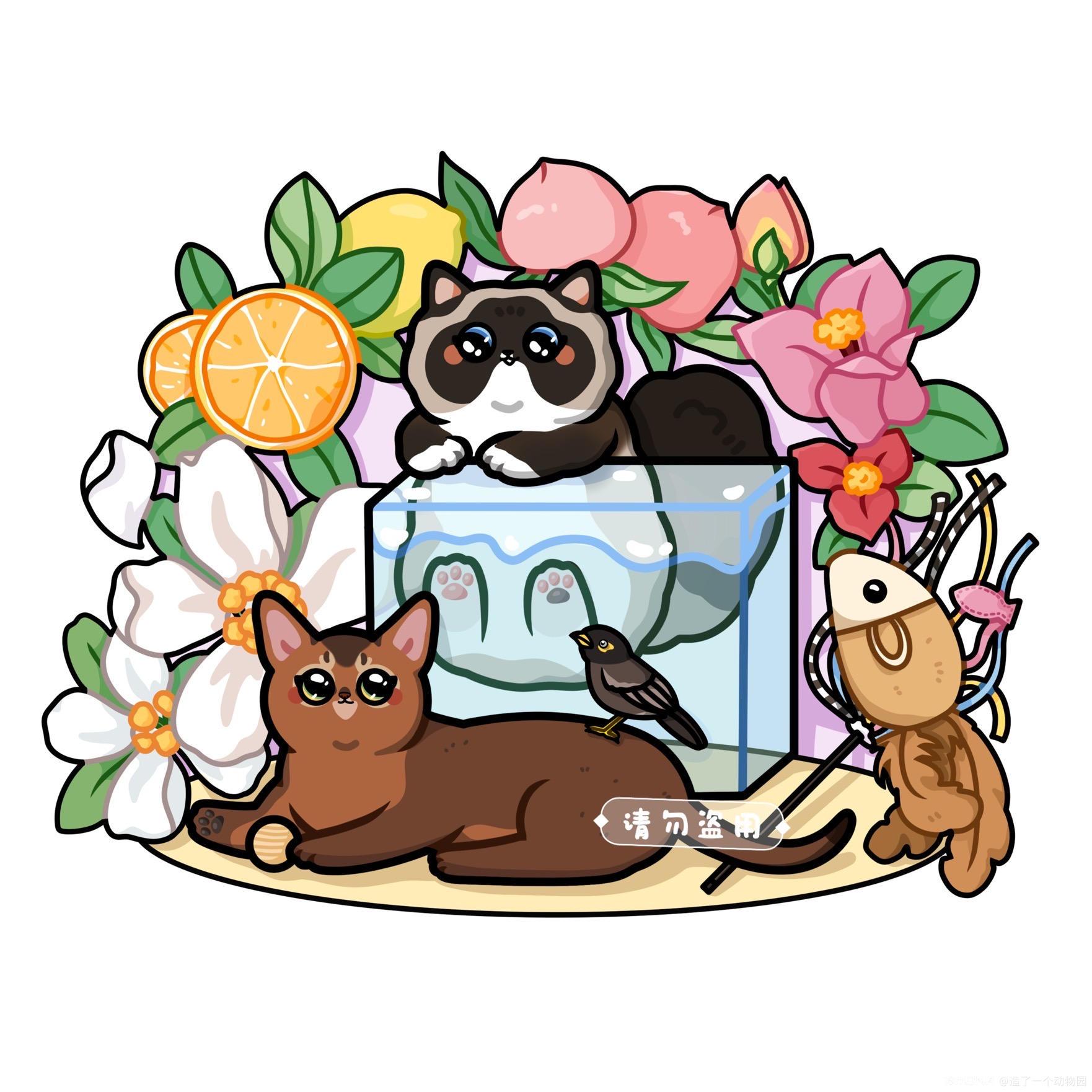 手绘猫猫头像 图4