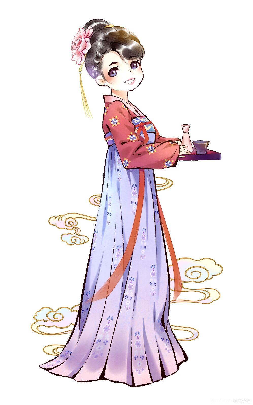中国风插画作品 图7
