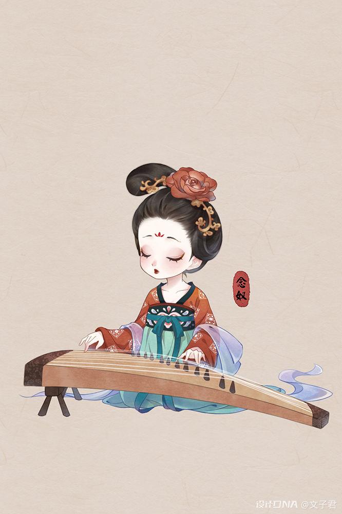 中国风插画作品 图15