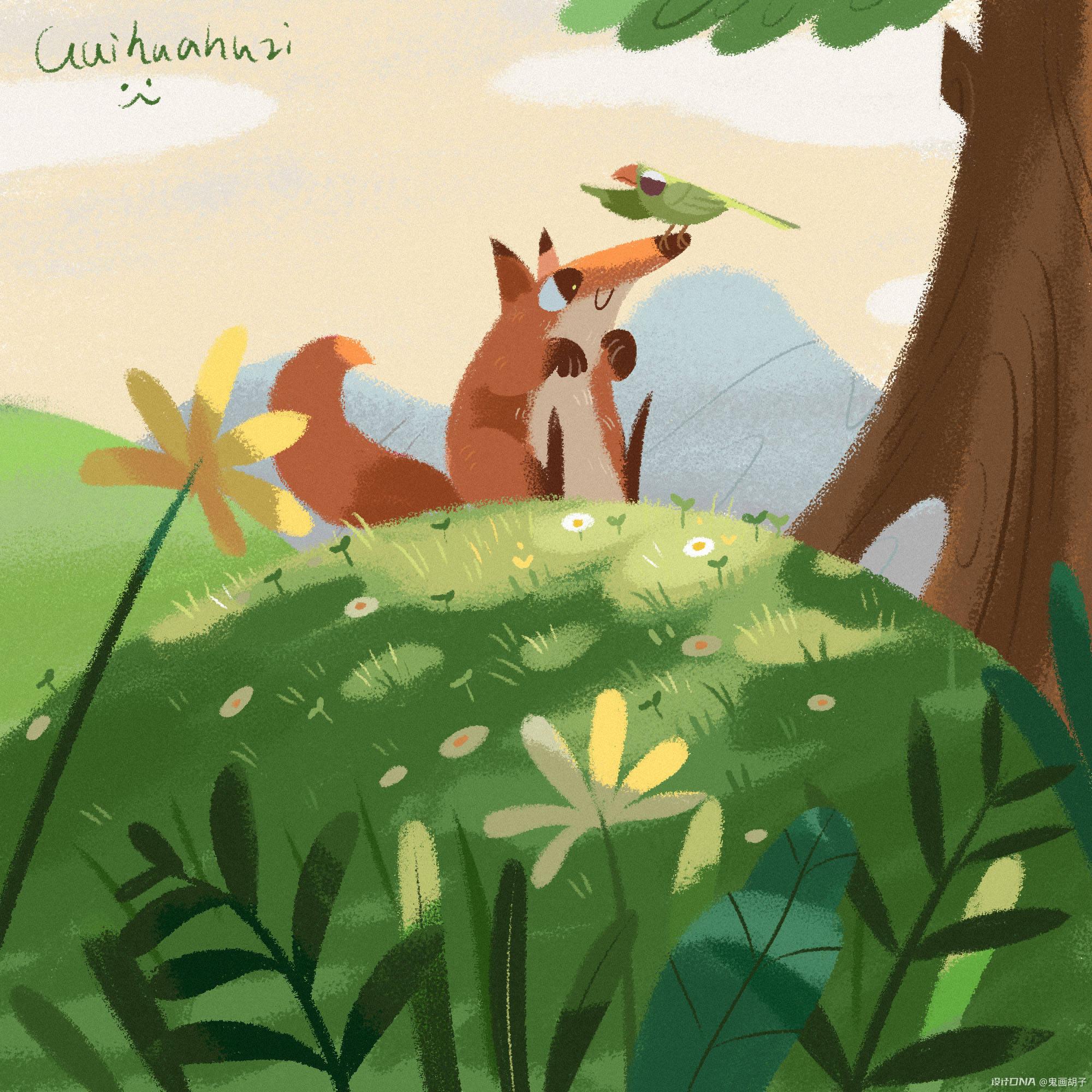 练习丨绘本类插画 图10