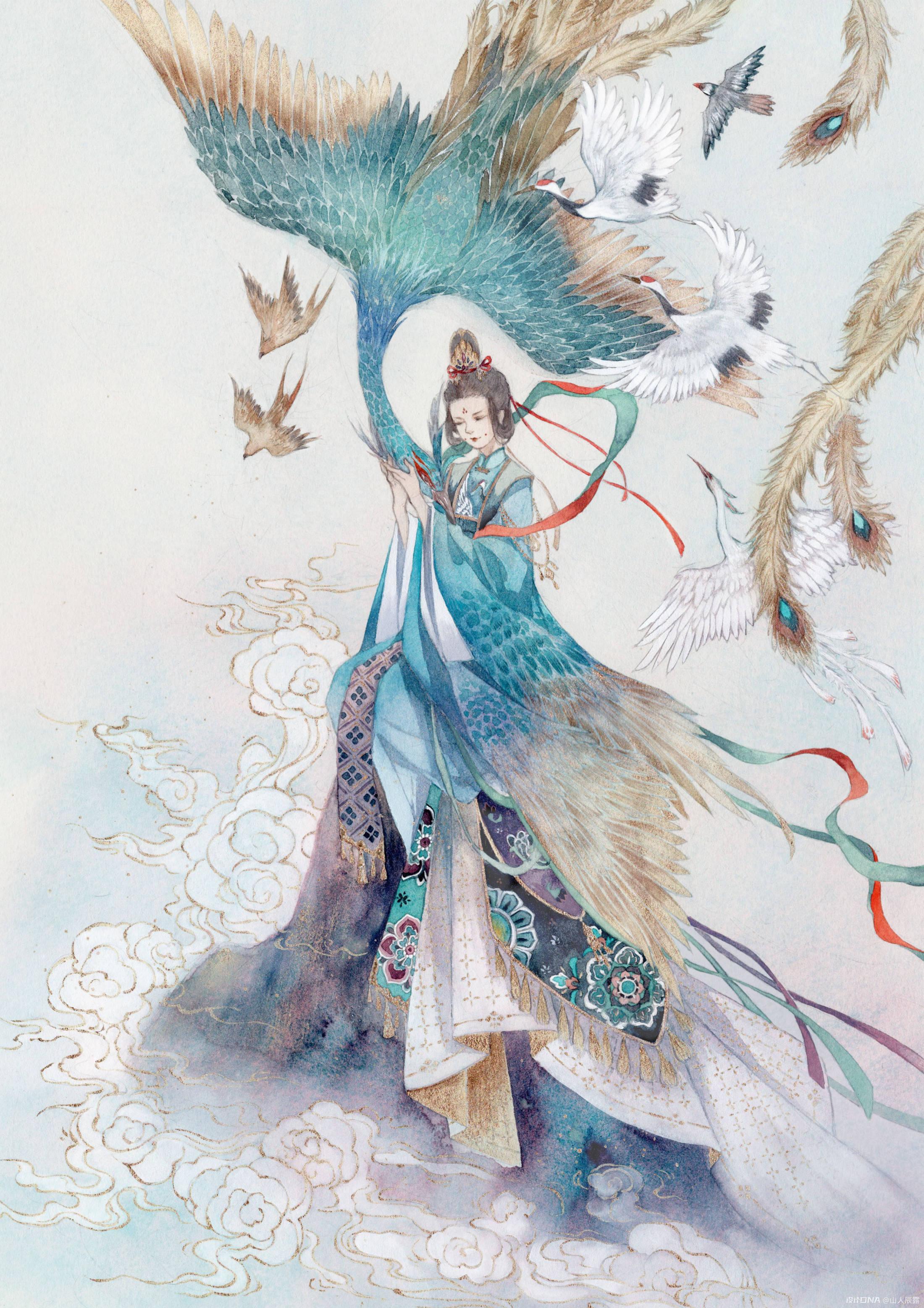 仙气飘飘-古风人物 图1