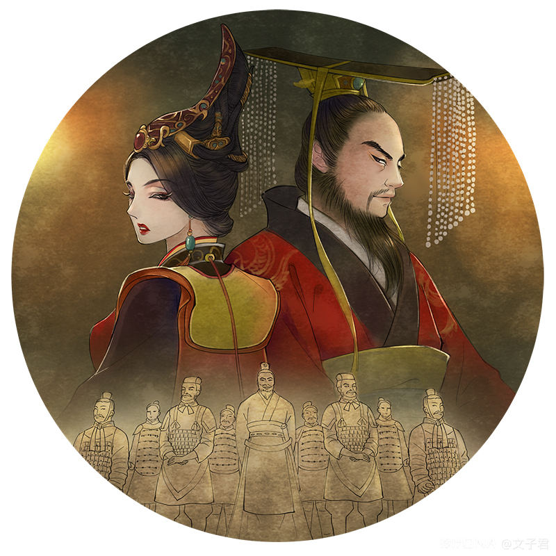中国风插画作品 图1