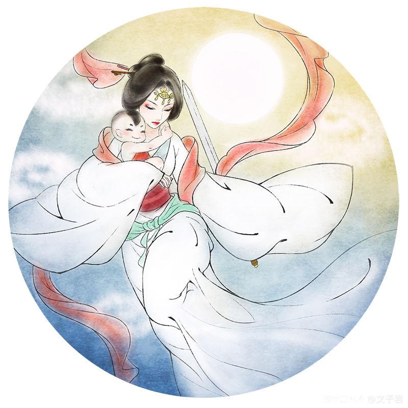 中国风插画作品 图3