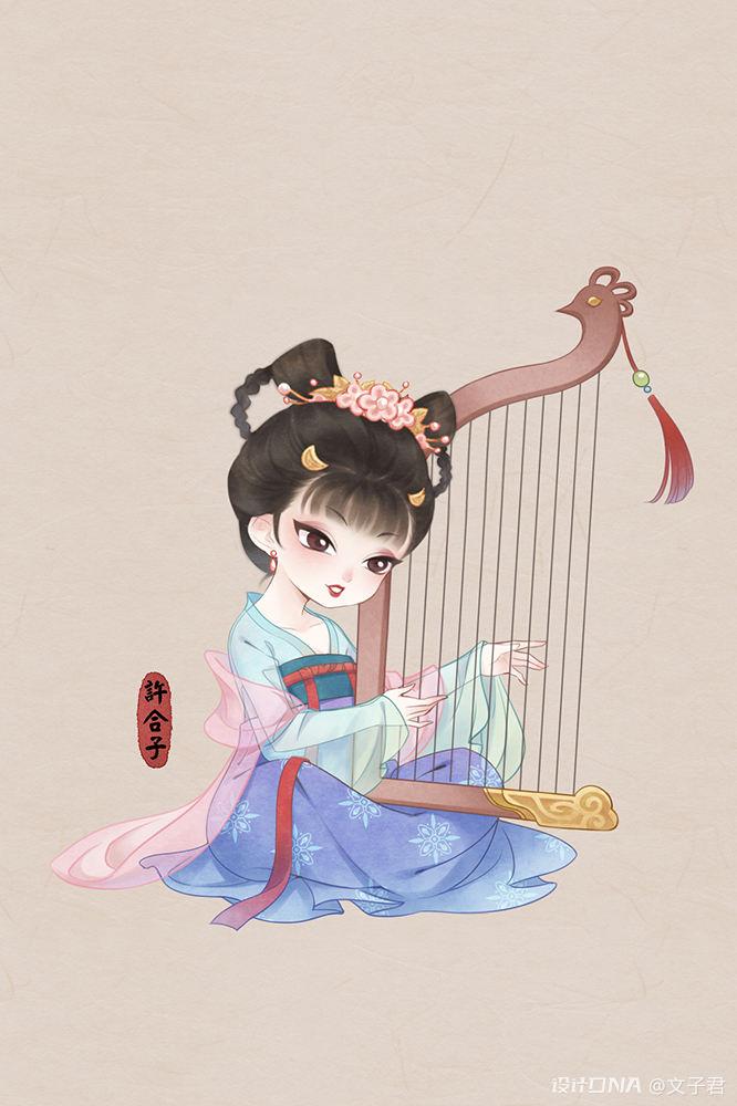 中国风插画作品 图18
